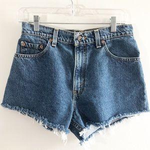 Levis cutoffs Upcycled High Waist Shorts 9